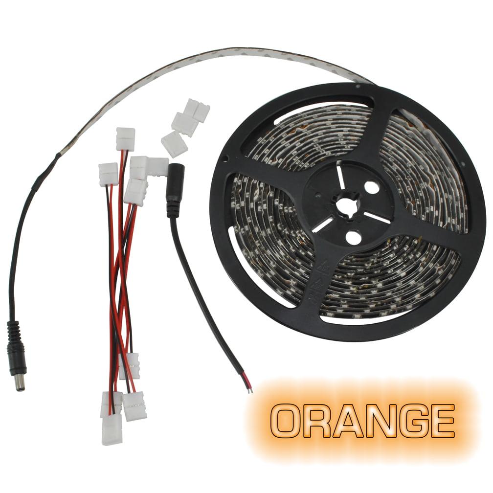 Pipedream 16ft Roll (NLDK216COR) Flexible LED Strip Orange