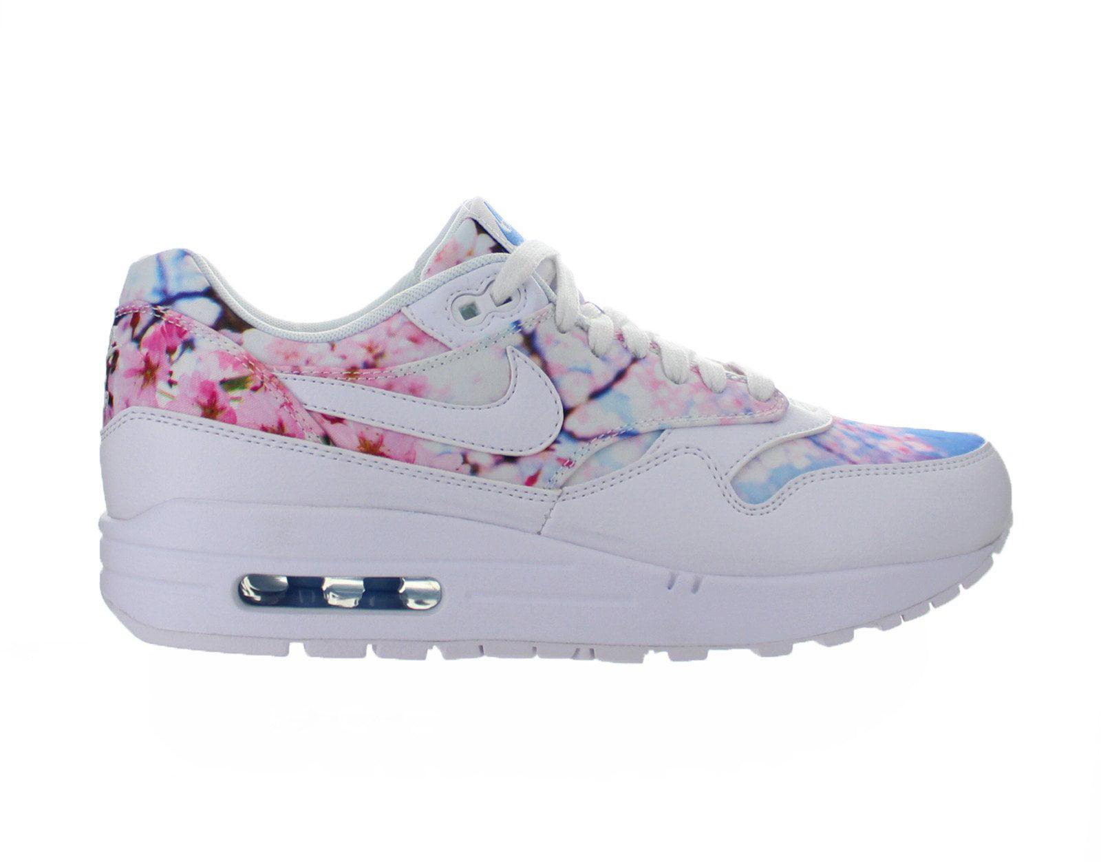 super popular 6ea82 c1254 Nike - Womens Nike Air Max 1 Print Cherry Blossom White University ...