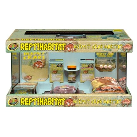 Zoo Med-Aquatrol ZM09139 Reptihabitat Hermit Crab Kit, 20.2