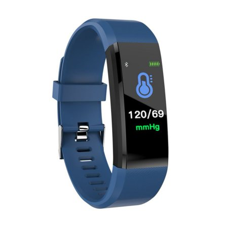 Fysho Waterproof Smart Bracelet Watch Plus Blood Pressure Monitoring Heart Rate Monitoring Smart Wristband Fitness - Plus Heart Rate Monitor Watch