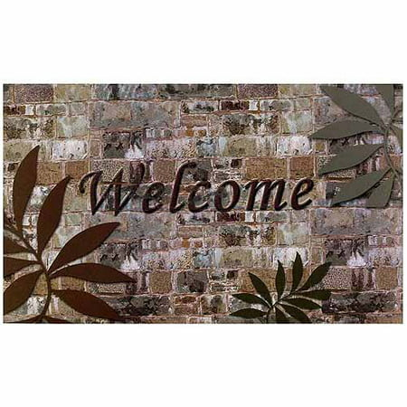 Welcome Palms Outdoor Rubber Entrance (Entrance Mats Matting Manufacturers)