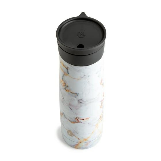 Tal Double Wall Vacuum Insulated 24 Ounce Verve Rise Black Travel Mug  Tumbler