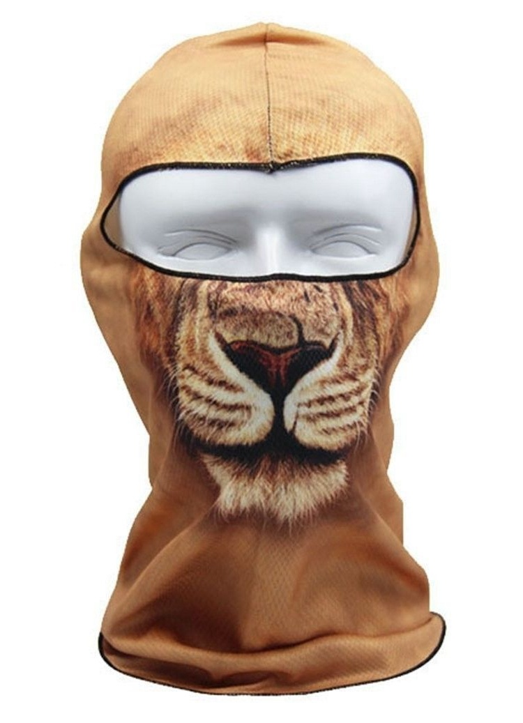 Redcolourful Thin 3D Animal Outdoor Cycling Ski Balaclava Neck Hood Full Face Mask by