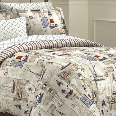 Free Spirit Cape Cod Bed In A Bag Bedding Set