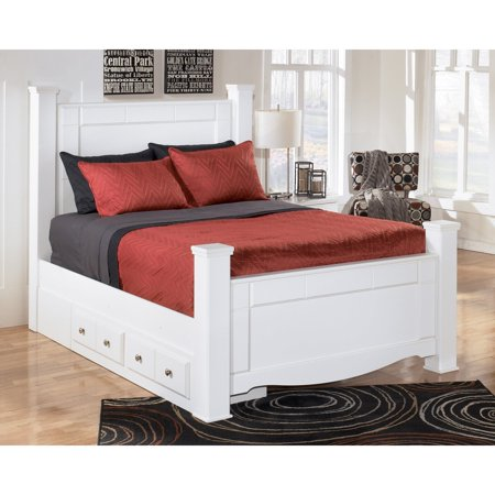 Signature Design By Ashley Weeki Poster Storage Bed