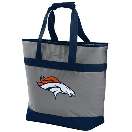 - Rawlings NFL 30 Can Soft Tote Cooler, Denver Broncos