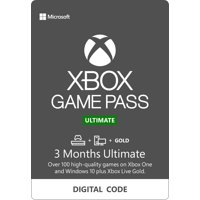 Deals on Microsoft Xbox 3 Month Game Pass Ultimate Digital