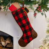 d60a827c1d3 Product Image Belham Living Buffalo Plaid Christmas Stocking