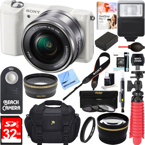 Sony Alpha a5000 20.1MP Interchangeable Lens Digital Came...