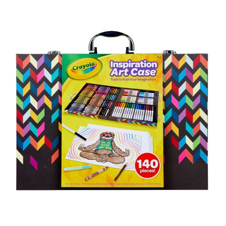 Art Sets For Kids (Crayola Inspiration Art Case 140 Pieces, Art Set, Gifts For Kids, Age 4, 5,)