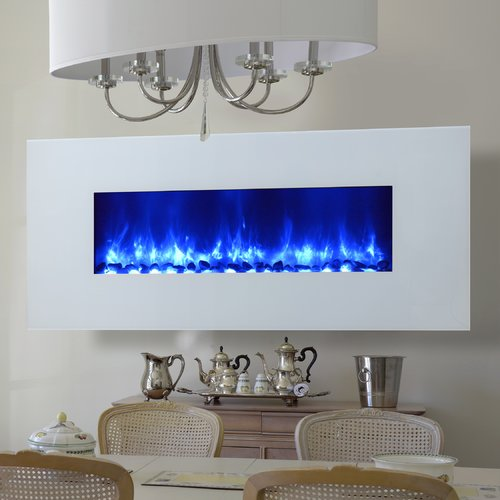 Dynasty Fireplaces Miami LED Wall Mount Electric Fireplace ...