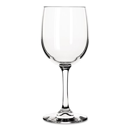 Libbey Bristol Valley Clear Wine Glasses, 8.5 oz, (Pack of 24)