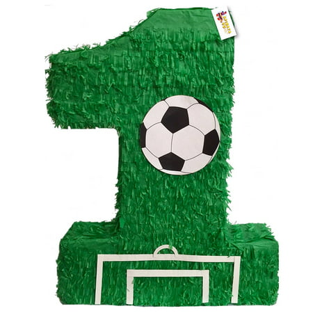 APINATA4U Large Green Number One Pinata 23