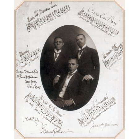 Those Ebony Offenbachs Johnson Brothers and Cole Poster Print by Science Source