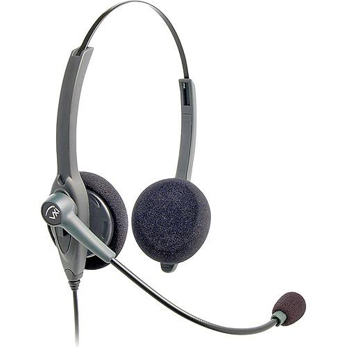 VXI 202780 Passport 21P-DC Binaural Single-Wire Headset by VXI