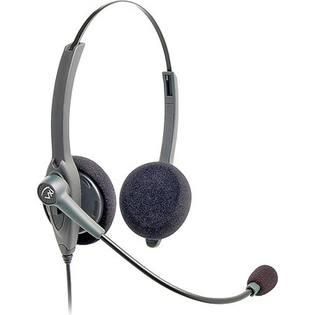 VXI 202780 Passport 21P-DC Binaural Single-Wire Headset by