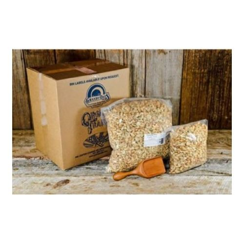 Grandy Oats 100% Organic Garlic Herb Roasted Cashews 10 Lb (Pack of 1)