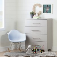 South Shore Cuddly 4-Drawer Chest, Multiple Finishes