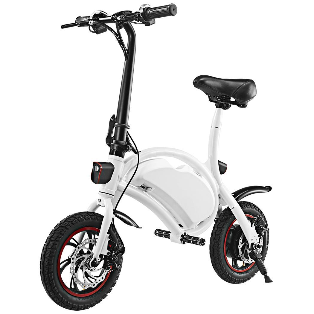 Ancheer 12'' Foldable Adjustable Mountain Bike Electric Power Bicycle with Smart Lithium Battery WSY by