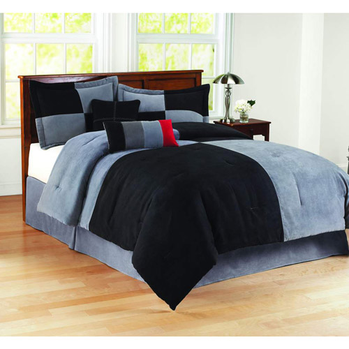 Mainstays Comforter Set Collection, Colorblock