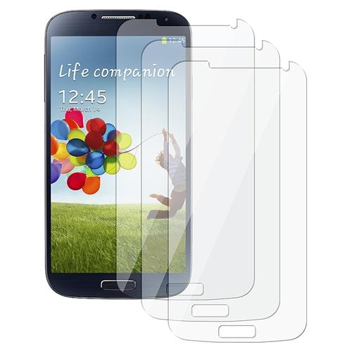 Insten 3pc Clear Screen Protector Guard LCD Cover for Samsung Galaxy S4 S IV i9500