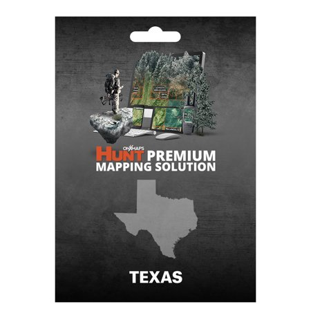 Onxmaps Hunt Texas   Gps Map With Hunting Land Owner Data For Garmin  Microsd Sd Card   Smartphone    Computer