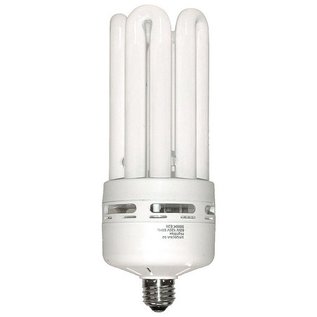 Lumapro Screw-In CFL,Non-Dimmable,5000K,60W 5MPW9