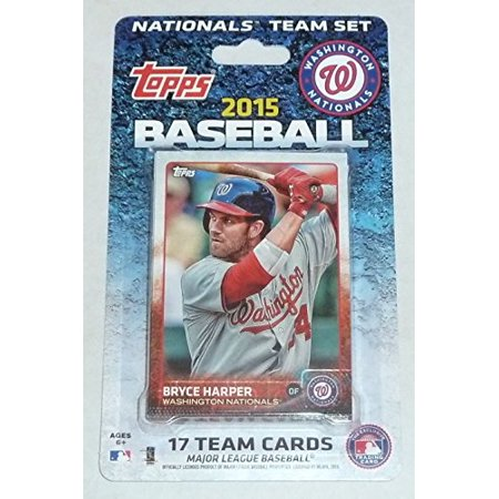 2015 Topps MLB Team Set - Washington Nationals ()