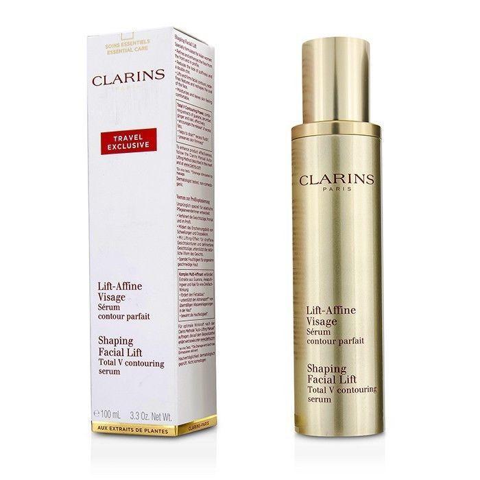 Clarins Shaping Facial Lift Total V Contouring Serum 3.3oz Womens Skincare