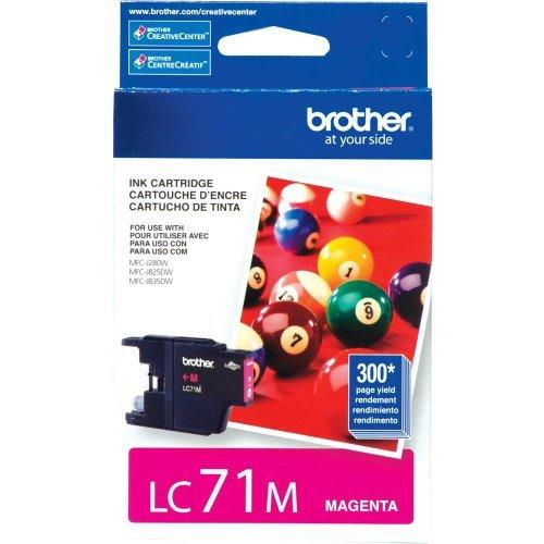 Brother International LC71M Lc71m Magenta Ink Cartridge Forsupl Clr Inkjet Mfcs