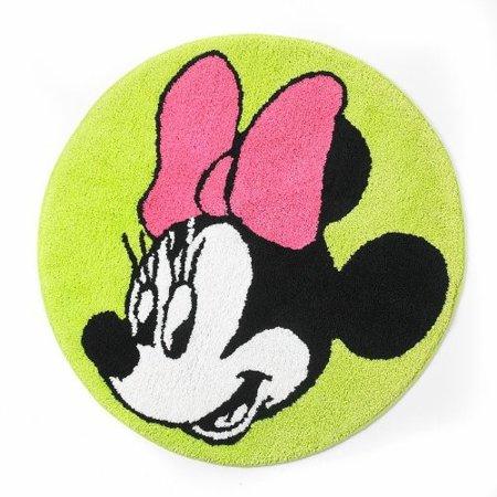 Disney Minnie Mouse Neon Bath Rug