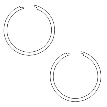 9N754 Snap Ring For Ford New Holland Tractor NAA 9N 900