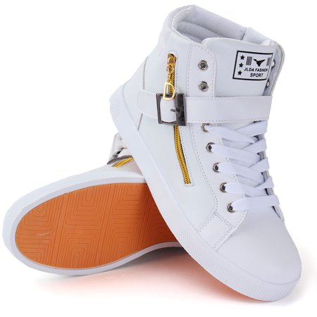 new fashion hiphop men's casual high top sport sneakers