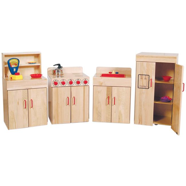Wood Designs 10020 - Heritage Collection Maple Kitchen Appliances - Set Of 4