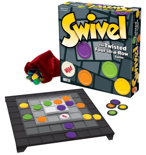 Swivel - The Twisted Four-in-a-Row Game Multi-Colored
