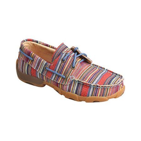 Children's Twisted X Boots YDM0041 Driving Moc Boat Shoe