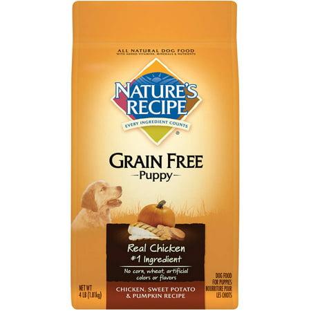 Natures recipe grain free puppy chicken sweet potato and pumpkin natures recipe grain free puppy chicken sweet potato and pumpkin recipe dry dog food forumfinder Gallery