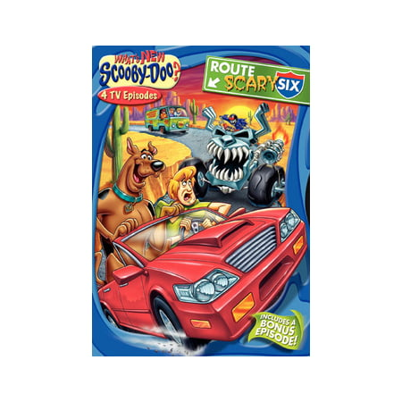 What's New Scooby-Doo? Vol. 9 Route Scary Six (DVD)](Scary Moving Animations)