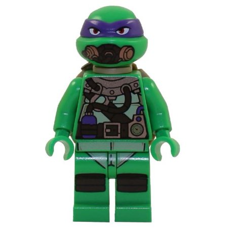 LEGO Teenage Mutant Ninja Turtles Donatello Minifigure [Scuba Gear] [No (Best Scuba Gear Brands)
