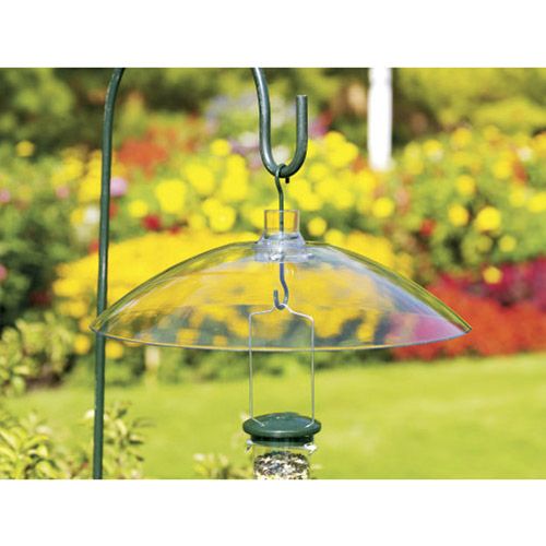 WoodLink Hanging Squirrel Baffle, Clear