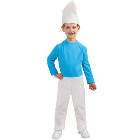 Smurfs: The Lost Village Smurf Child Costume](Smurf Costume Women)