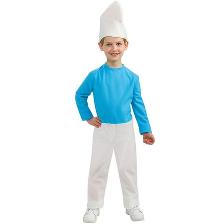 Smurfs: The Lost Village Smurf Child Costume](Vexy Smurf Halloween Costume)
