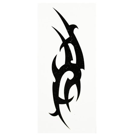 Fierce Warrior Battle Weapon Temporary Tribal Tattoo