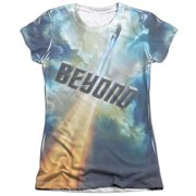 Star Trek Beyond Up And Away (Front Back Print) Juniors Sublimation Shirt