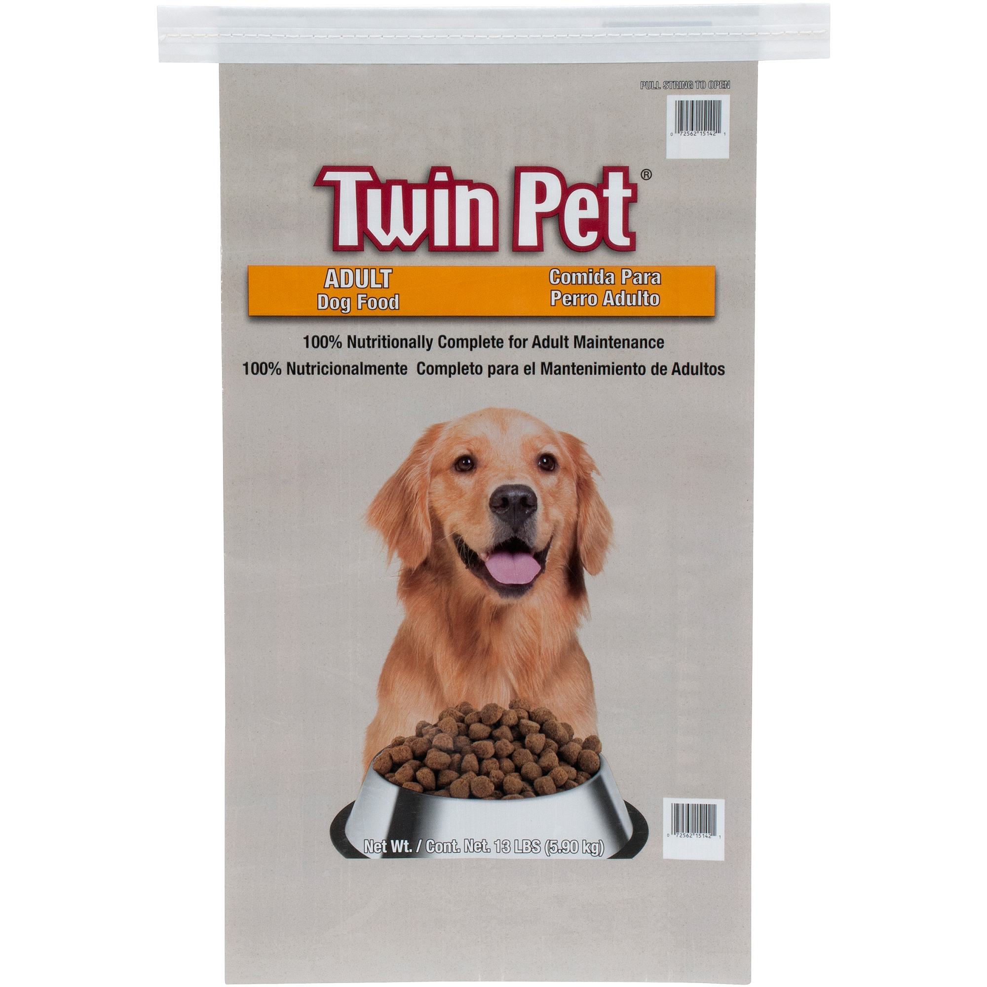 Twin Pet Adult Dog Food, 13 lb