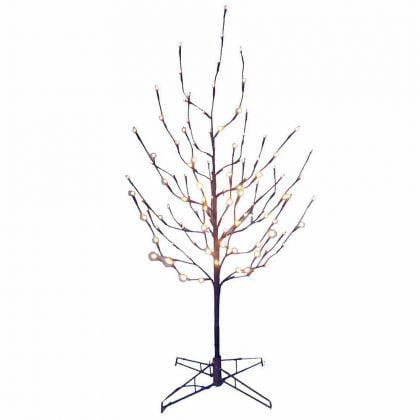 Kurt Adler 4-Foot Twig Tree with White LED Lights Charlie Brown Pathetic Christmas Tree