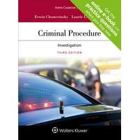 Aspen Casebook: Criminal Procedure: Investigation (Paperback)