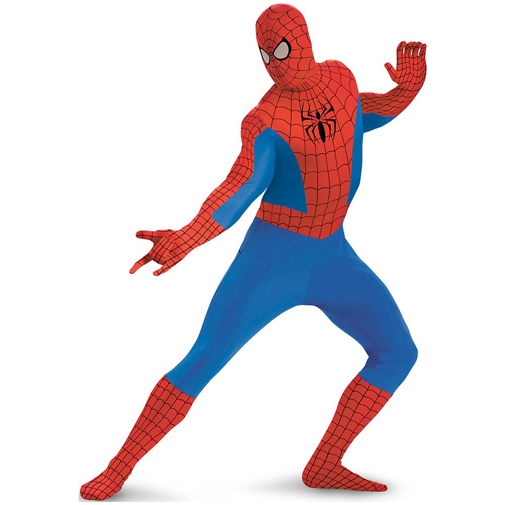 Spider-Man Bodysuit Adult Halloween Costume