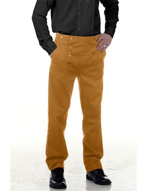 The Pirate Dressing C1403 Architect Mens Hundred Percent Cotton Pants, Green - Large