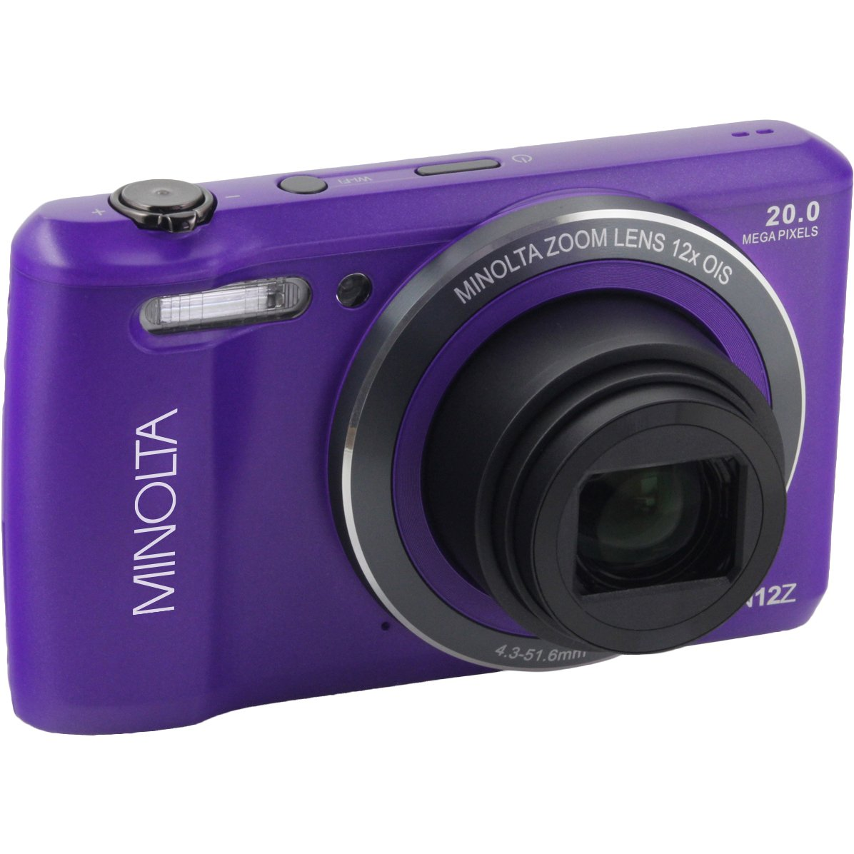 Minolta Mn12z-p 20.0-megapixel Hd Wi-fi[r] Digital Camera [purple]